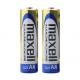 Maxel - Baterías alcalinas AA