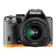 Pentax - K-S2 DAL 18-50mm Kit - Negro/Naranja
